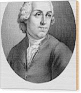 Etienne Bonnot De Condillac(1715-1780) Wood Print