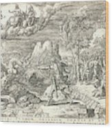 Etienne Delaune French, Ca. 1519-1583 After Giovanni Wood Print