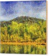 Etowah Reflections Wood Print
