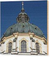 Ettal Abbey Bavaria Wood Print