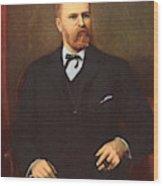 Eugene Dupont (d Wood Print