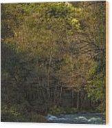 Eume River Galicia Spain Wood Print