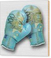 Euro Gloves-2 Wood Print