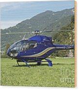 Eurocopter Ec130 Light Utility Wood Print