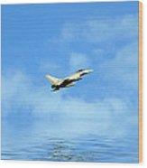 Eurofighter Typhoon Wood Print