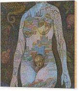 Eve Wood Print