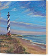 Evening at Cape Hatteras Wood Print