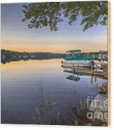 Evening Calm Wood Print