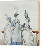 Evening Dresses For The Opera Wood Print