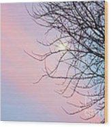 Evening Glow Wood Print
