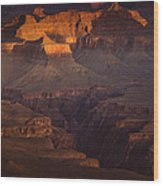 Evening In The Canyon Wood Print by Andrew Soundarajan