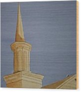 Evening Worship Wood Print