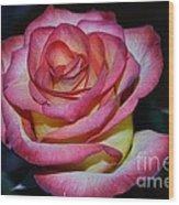 Event Rose Too Wood Print