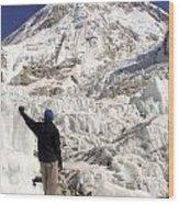 Everest Base Camp Wood Print