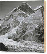 Everest Sunrise Wood Print