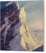 Everest-southeast Ridge Wood Print