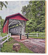 Everett  Bridge Wood Print