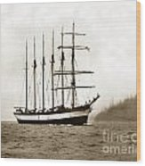 Everett G. Griggs Sailing Ship Washington State 1905 Wood Print