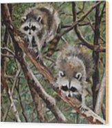 Everglade Babies Wood Print