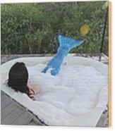 Everglades City Florida Mermaid 017 Wood Print