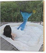 Everglades City Florida Mermaid 018 Wood Print