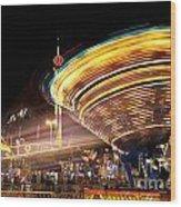 Evergreen State Fair Wood Print