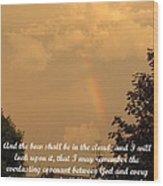 Everlasting Covenant Wood Print