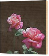 Everlasting Roses Wood Print