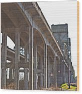 Everysville Bridge Wood Print
