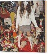Evil Schoolgirl 274 Wood Print