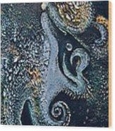 Evolving Sirenian Wood Print