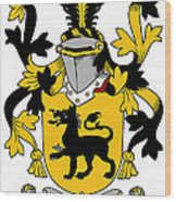 Ewers Coat Of Arms Irish Wood Print