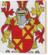 Ewing Coat Of Arms Irish Wood Print