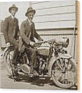 Excalibur Motorcycle Circa 1920 Wood Print