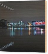 Excel London  Wood Print