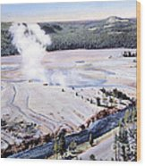 Excelsior Geyser, Yellowstone Np, 20th Wood Print
