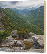 Exclamation Point North Carolina  Wood Print