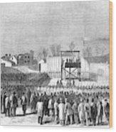 Execution Of Henry Wirzhenry Wirz Wood Print