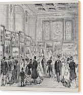 Exhibition Of The City Of London Society Of Artists Wood Print