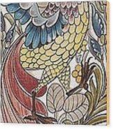 Exotic Bird Wood Print