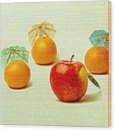 Exotic Fruit Wood Print