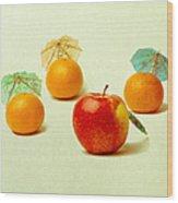 Exotic Fruit - Square Wood Print by Alexander Senin