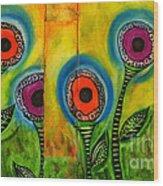 Exotic Halos - Wip Wood Print