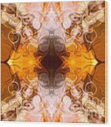 Exploding Ideas Abstract Pattern Artwork By Omaste Witkowski Wood Print