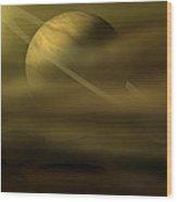 Exploration Wood Print by Ricky Haug