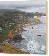 Exploring The Oregon Coast Wood Print
