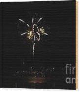 Explosive Pyrotechnics Wood Print