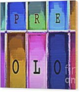 Express Color Wood Print
