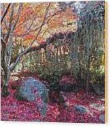 Exquisite Autumn Wood Print
