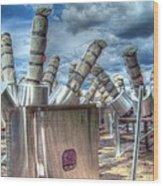 Exterminate - Exterminate Wood Print by MJ Olsen